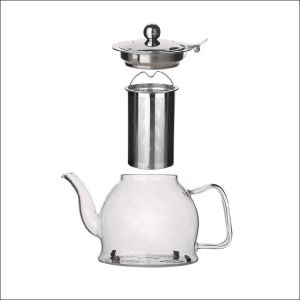 1.2l clear glass teapot expanded