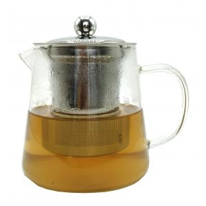 500ml Clear Glass teapot