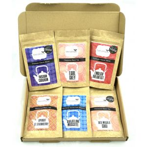 All blacks - starter pack of 6 black teas