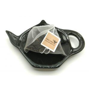 Ceramic Teabag Dish- Black
