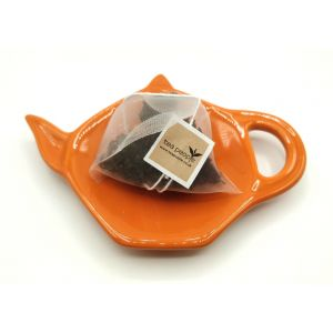 Ceramic Teabag Dish-Carrot