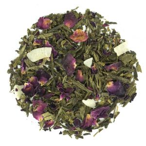 Coconut Rose Green - Loose Tea Leaves