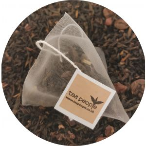Coffee Truffle tea pyramid