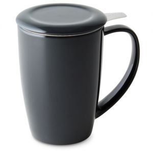 Forlife Tall Curve Tea mug - Black
