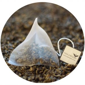 Organic Gunpowder Green - Tea Pyramid