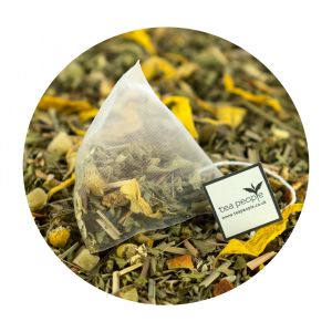 Fruity Vervain Delight Tea Pyramid