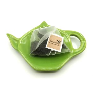 Ceramic Teabag Dish- Lime