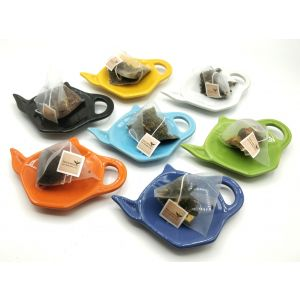 Ceramic Teabag Dish- Mixed Colours