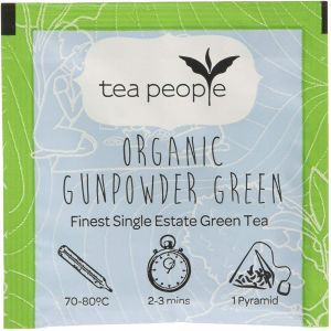 Organic Gunpowder Green - Tea Envelope