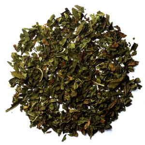 Peppermint tea leaves
