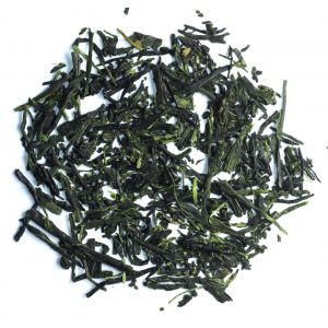 Japanese Sencha tea leaves