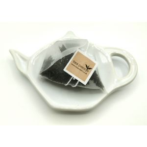 Ceramic Teabag Dish- White