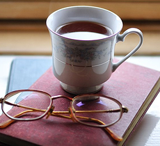 Teacup and spectacles